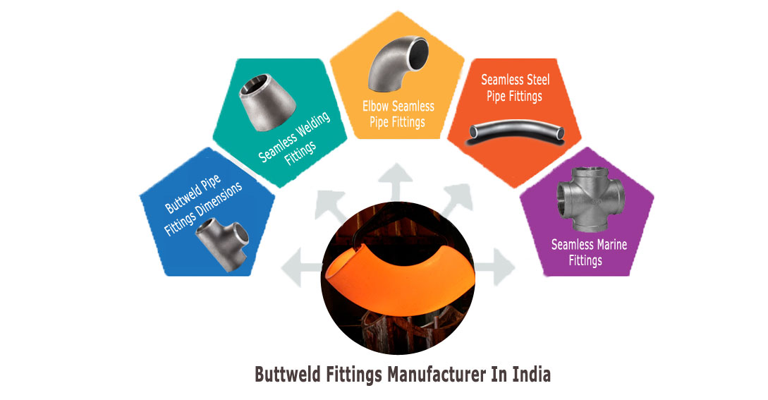 Buttweld Fittings manufacturer in India